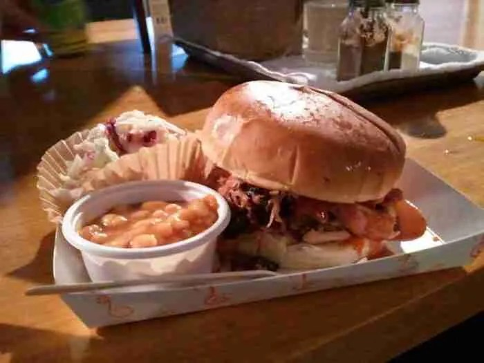 Food Story: Linus' 'Bama BBQ--Back in the day