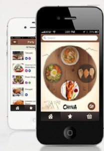 Asian Cuisines iphone ios cooking app