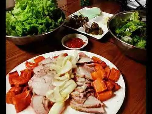 Sunday Pork Roast Bossam