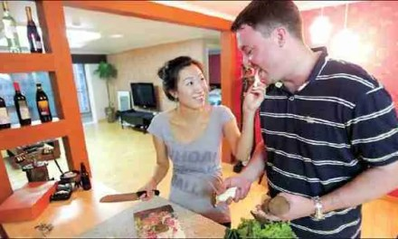 Dealing with Dinner for International Couples