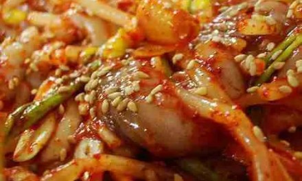 Spicy Stir-fried Octopus (Nakji Bokkeum 낙지 볶음)