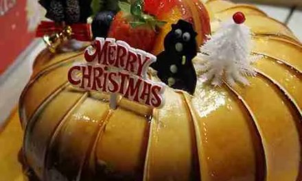 Korean Christmas Cakes 2009
