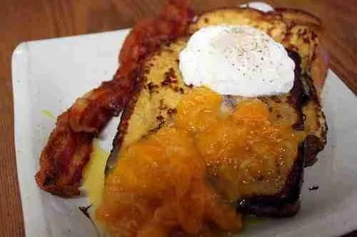 Mammy's French Toast with Tangerine Compote