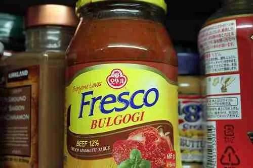 Bulgogi Spaghetti Sauce?