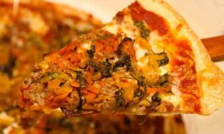 Banchan pizza: A second life for side dishes