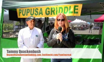 Second interview with Pupusa Griddle: Chef Hector's kimchi 2.0