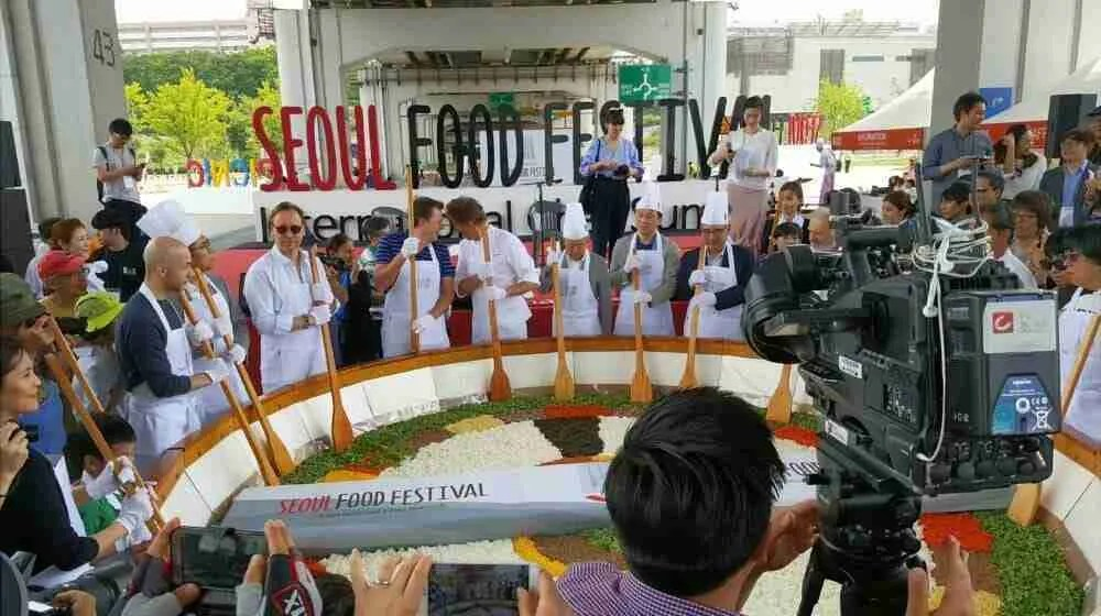 Seoul Food Festival 2017: Picnic on the Bridge