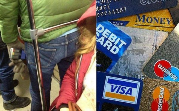 RFID theft is especially common in busy places