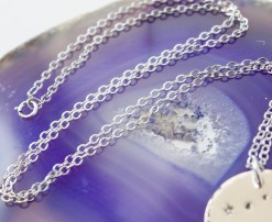 Constellation Necklace in Sterling Silver