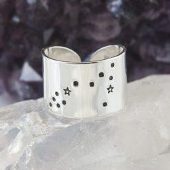 Pisces Zodiac Constellation Ring