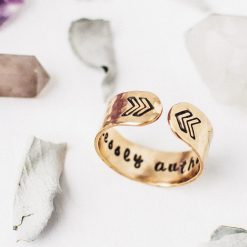 Gold Fearlessly Authentic