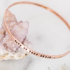 Give of your magic Copper bangle