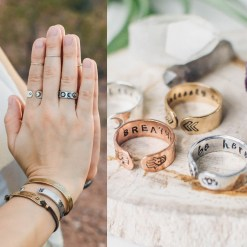 "Customize your own 1/4"" ring"