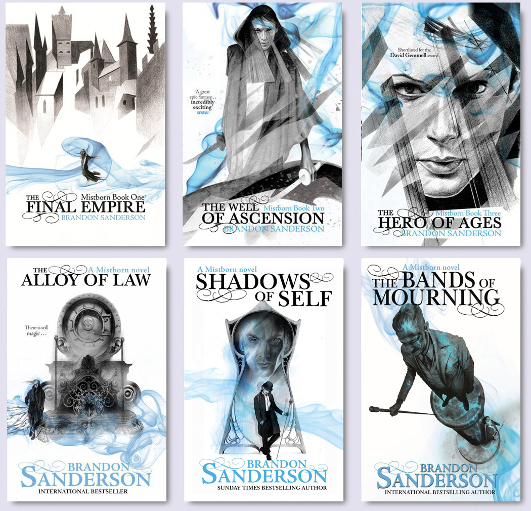 Image result for brandon sanderson books