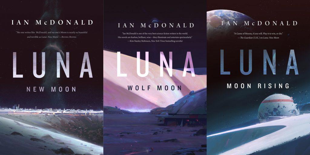 Image result for luna ian mcdonald series