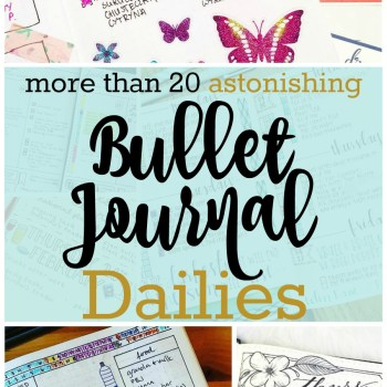 Begin Your Journal Today with Bullet Journal Dailies | Zen of Planning | Planner Peace and Inspiration