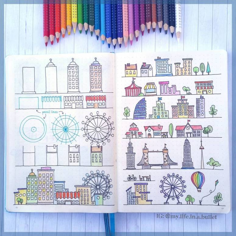 These How To Doodle Accounts Can Teach Anyone To Draw | Zen of Planning | Planner Peace
