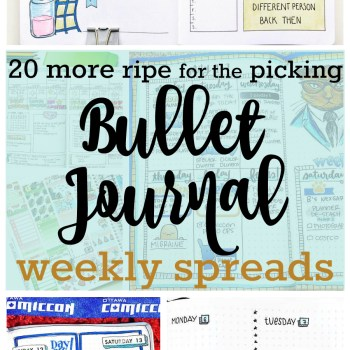 Bullet Journal Weekly Spread | Zen of Planning | Planner Peace and Inspiration