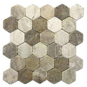 Hexagon Beach Mix Tile