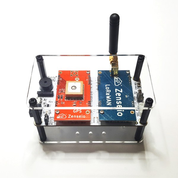 gps and lora system in simple enclosure