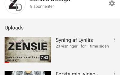 Zensie Design er på YouTube