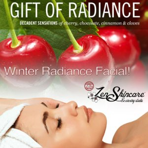 Winter Radiance Facial Service Zen Skincare Waxing Studio Asheville NC
