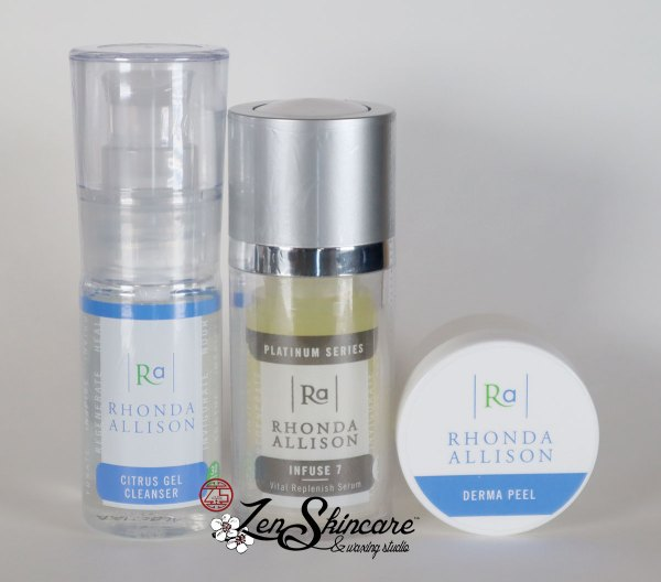 Rhonda Allison Renew Infuse Facial Kit Zen Skincare Waxing Studio Asheville, NC