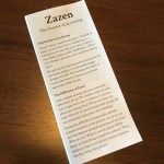 96 – A Zazen Pamphlet: Essential (and Brief) Instructions for the Practice of Zazen