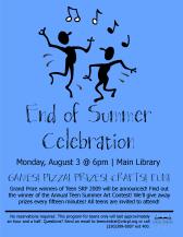 Teen SRP 2009 End of Summer Celebration