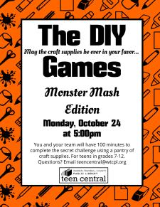 The DIY Games: Monster Mash Edition