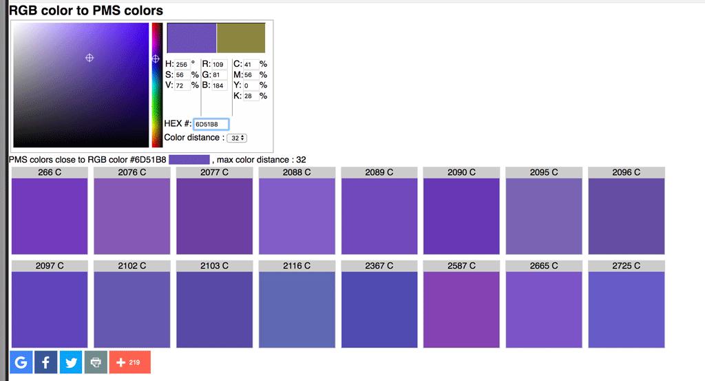 La différence entre les codes de couleurs CMJN, RVB, PMS et HEX