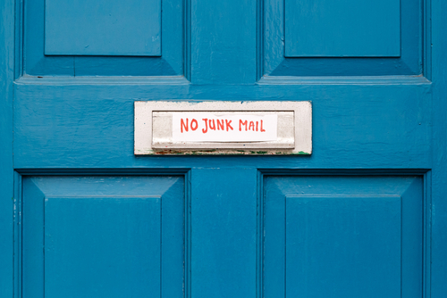 Junk Mail: How to Stop it and Let it Go