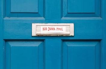 I repeat: No Junk Mail