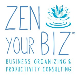 Zen YOur Biz logo: Business Organizing and Productivity Consulting