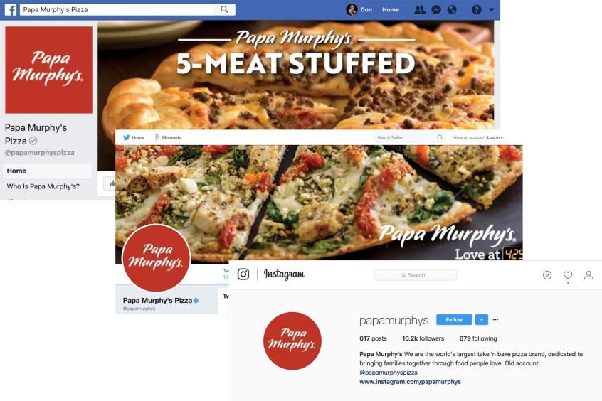 Mazimize Social Media - consistent profiles
