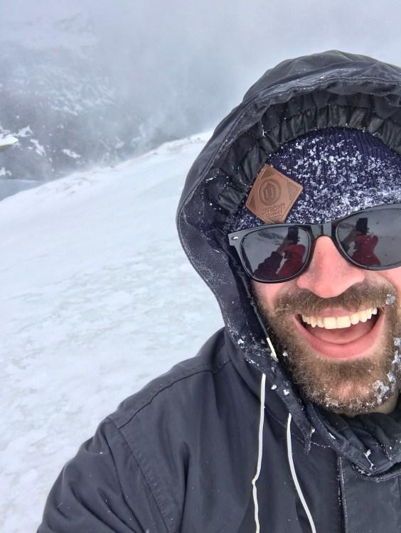 Obligatory frozen beard selfie