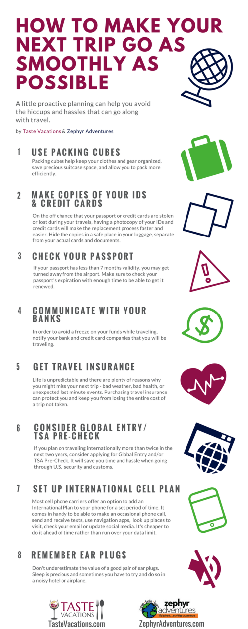 Travel Tip: How To Make Your Next Trip Go As Smoothly As Possible