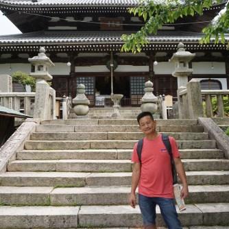 Me at Onsenji Temple