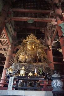 Bodhisattva statue on the left of the Big Buddha