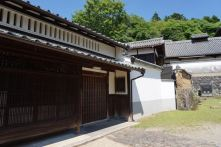Some old wooden buildings in Todaiji