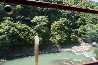 This part of Hozugawa River is claimer