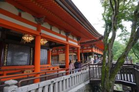 Okuno-in Hall next to Hondo