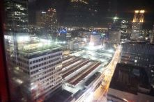 View of Osaka from HEP5 Ferries Wheel