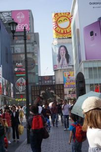 Lots of food and shopping in Dotonbori