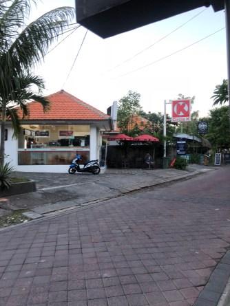 The 24-hour convenient shop across the villa