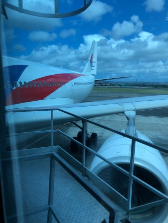 Malaysia Airlines A330-300 upclose