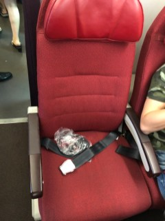 Seat in Economy Class cabin