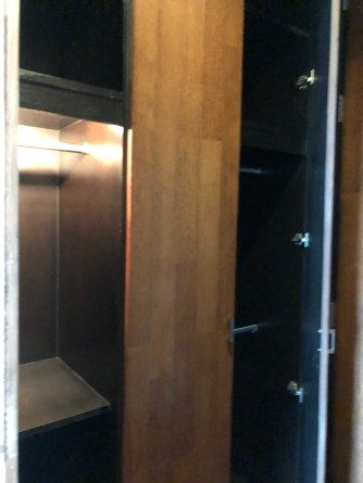 Cabinets next to the main entrance to the Executive Suite