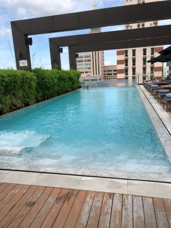 Swimming pool in VIE Hotel Bangkok
