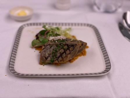 Grilled Tuna and Yuzu Dressing